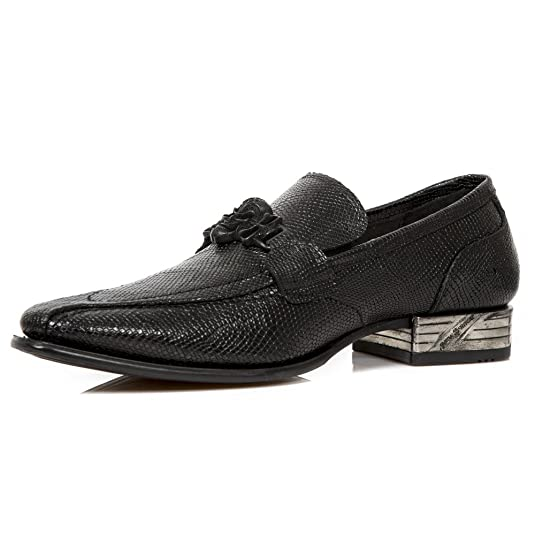 Mens M Nw154 S1 Loafers, Black New Rock