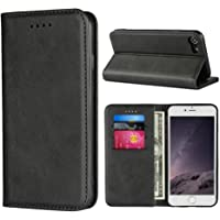 Cavor for iPhone SE 2020 Case,iPhone 7 8 Case,Cowhide Pattern Leather Magnetic Wallet Case Cover with Card Slots(4.7…
