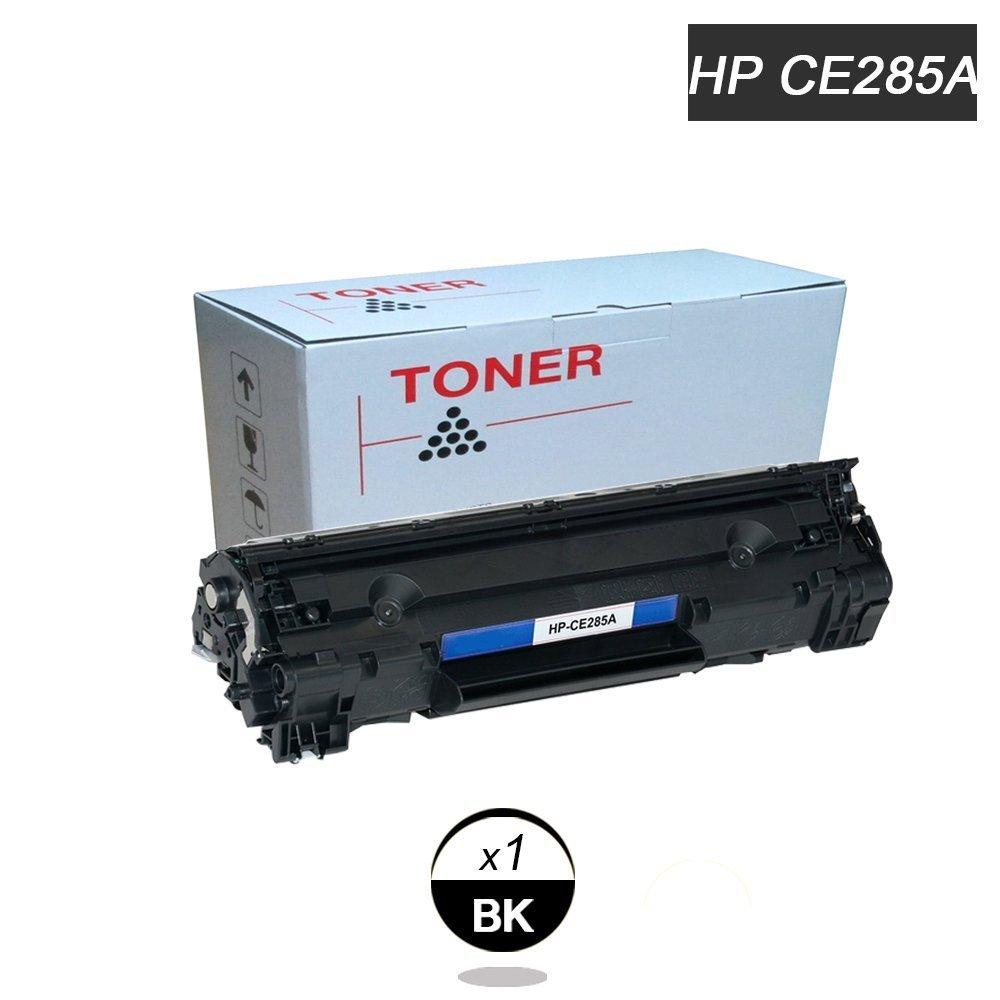 DOREE 1 cartuchos de tóner Compatible HP CE285A 85A para su uso en ...
