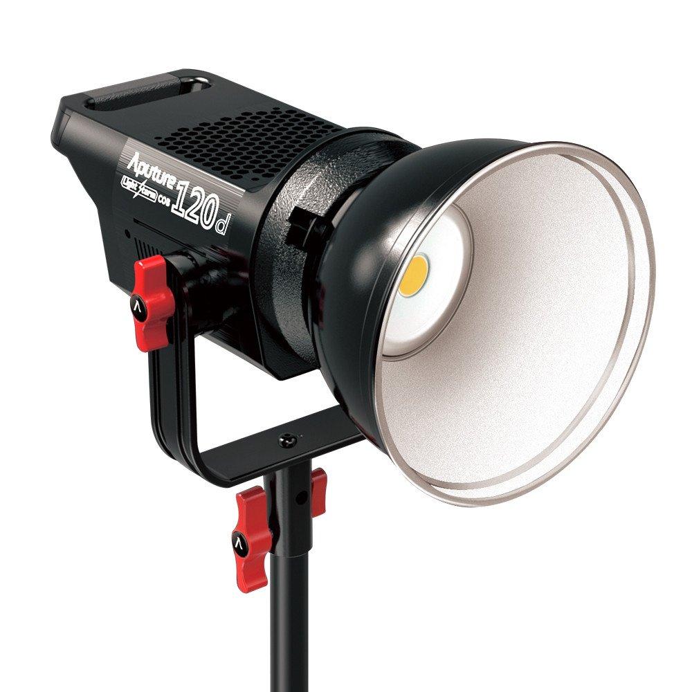 Aputure Light Storm COB 120d 撮影用スポットライト 6000K CRI96+ 超低音 撮影ビデオライト 定常光   B071KN5BN5