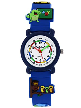 Armbanduhr kinder blau  Pacific Time First Kinder-Armbanduhr Schule Armbanduhr Kinder ...