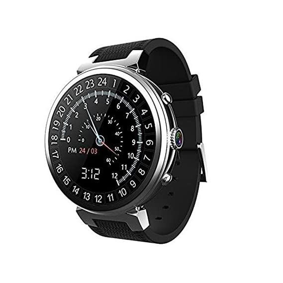 Amazon.com: 3G WIFI I6 Smart Watch Android 5.1 MTK6580 Quad ...