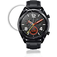 Screen Protector Film for Huawei Watch GT Scratch-Resistant 9H Hardness HD Clear Tempered Glass Screen Protector