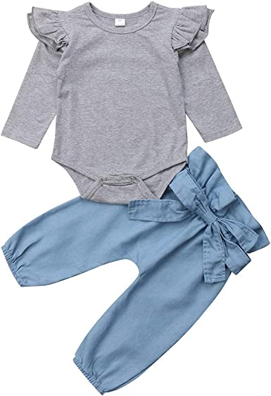 Short Trousers Suit Toddler Summer Clothes Outfit BABICOLOR Baby Girl Shorts Set Flower Bow Small Flying Sleeve T-Shirt