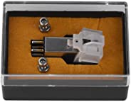 Magnetic Cartridge Stylus with LP Vinyl Needle, Phonograph Record Player Turntable Cartridge with Needle Stylus Magnet Phono