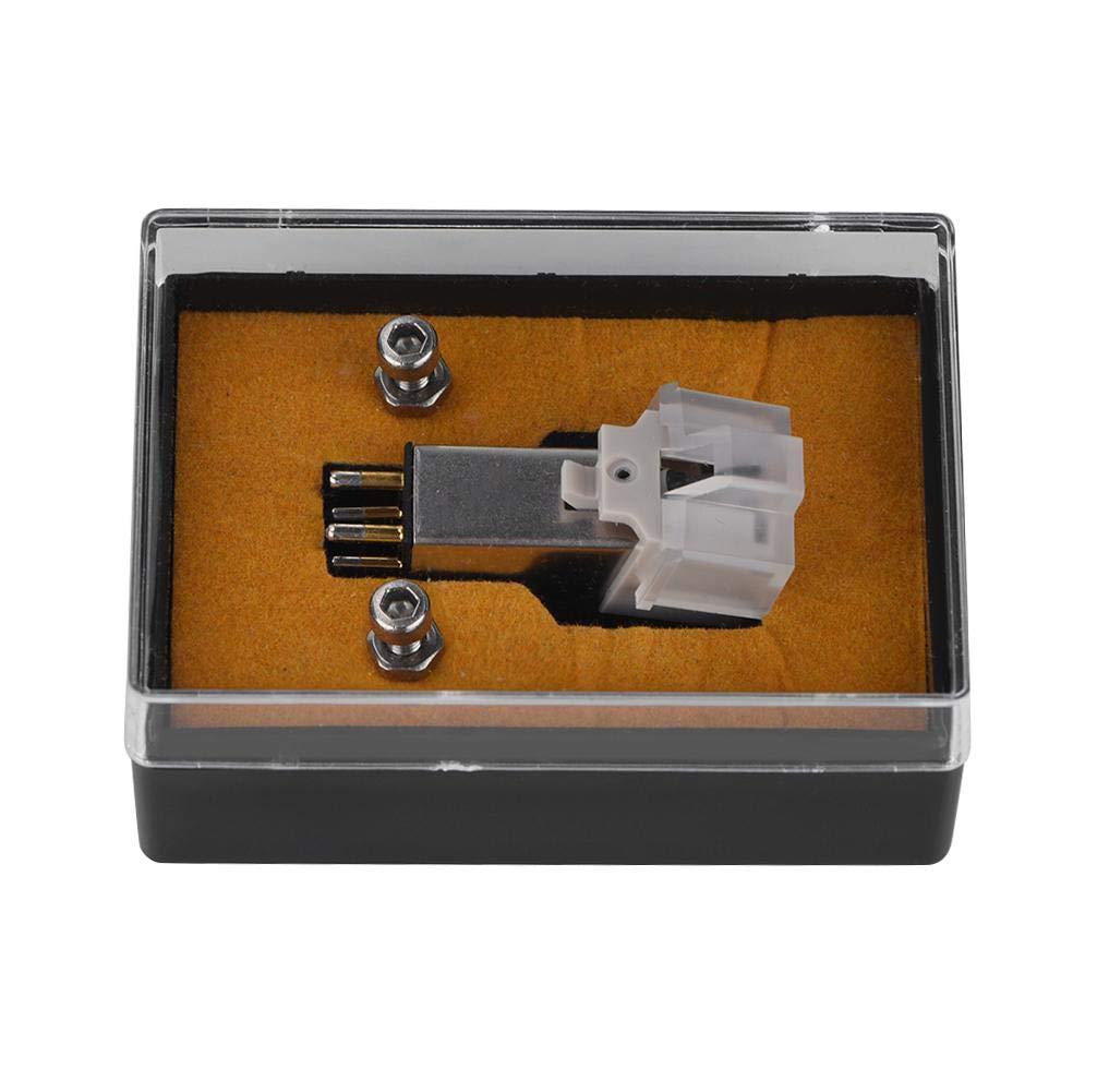 Zerone Stilo para Cartuchos magnéticas con LP Vinyl Needle para Tocadiscos para Tocadiscos