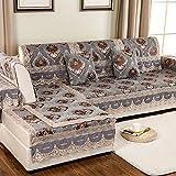 European Style Sofa Pad/Fabric Seat Cushion /Four Seasons Common Sofa Towel/Anti-skidding ,Living Room,Wood Sofa Towel-I