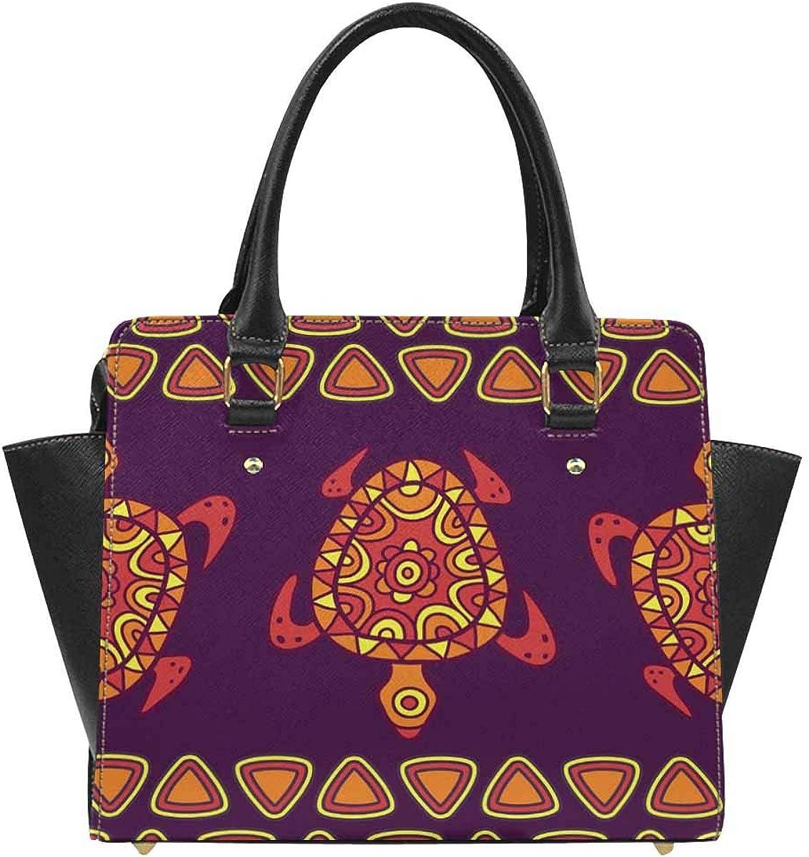 African Art Tribal Print Womens Fashion Large Shoulder Bag Handbag Tote Purse for Lady
