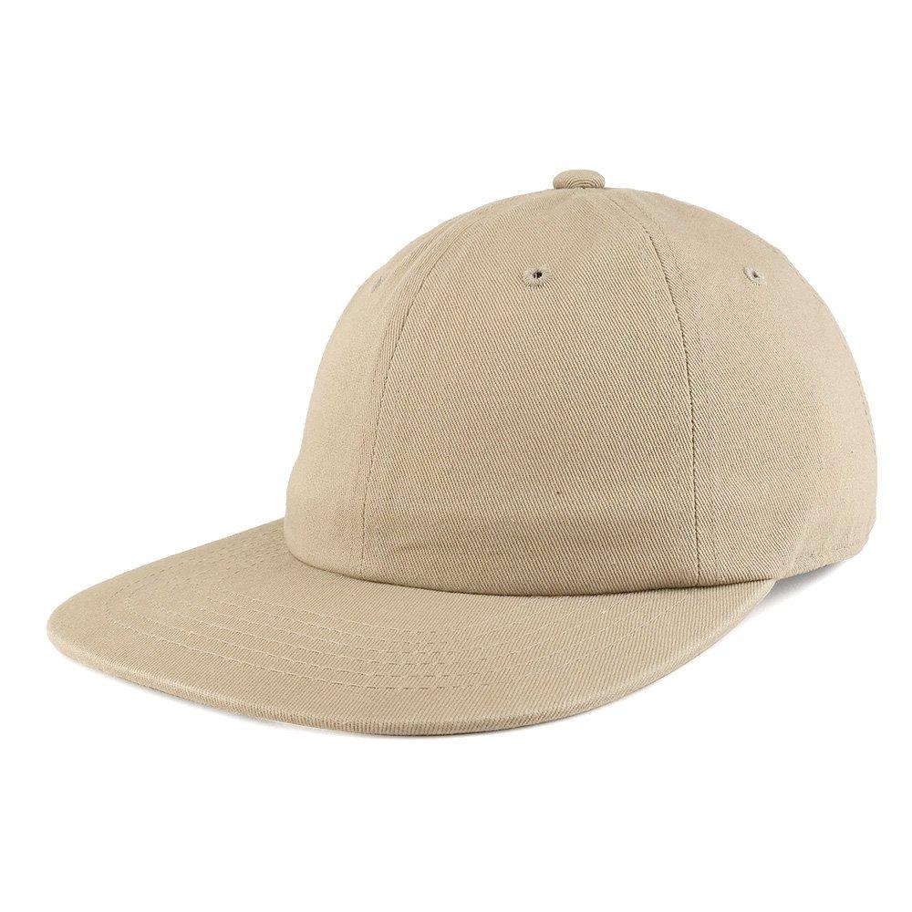 5eaf060a Amazon.com: Trendy Apparel Shop Low Profile Plain Unstructured Crown ...