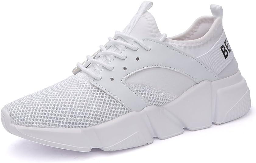 Ritiriko GB01-077M - Zapatillas de running para hombre, color Blanco, talla 47: Amazon.es: Zapatos y complementos