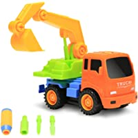 Packfun Take-A-Part Toy Vehicle Excavator Friction Powered Kit
