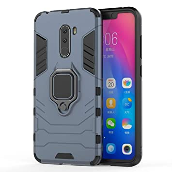 Holster Fundas y Estuches para teléfonos móviles, Funda Protectora a Prueba de Golpes PC + TPU con Soporte magnético para Xiaomi Pocophone F1 (Talla : Xim3575nv): Amazon.es: Electrónica
