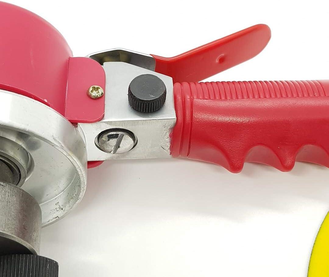 Merry Tools HK 150mm 6 Orbital Al Azar Palmera Acci/ón Doble Comprimido Aire Lijadora 1//4BSP 212528