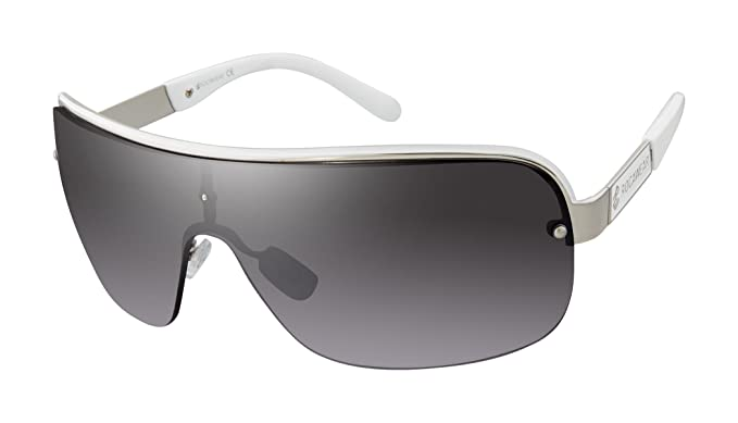 175762ddd39 Amazon.com  Rocawear Men s R1480 Slvwh Non-Polarized Iridium Shield ...