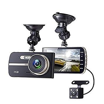 Cámara para coche, coche Dash Cam, 290 °, 1080p Full HD 4.0 LCD