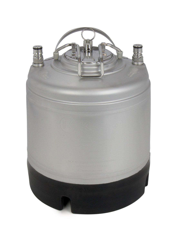 Kegco 1.75 Gallon Ball Lock Homebrew Pepsi Cornelius Keg for Beer Strap Handle