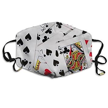 Unisex Poker juego de cartas las Vegas Gambling boca máscara ...