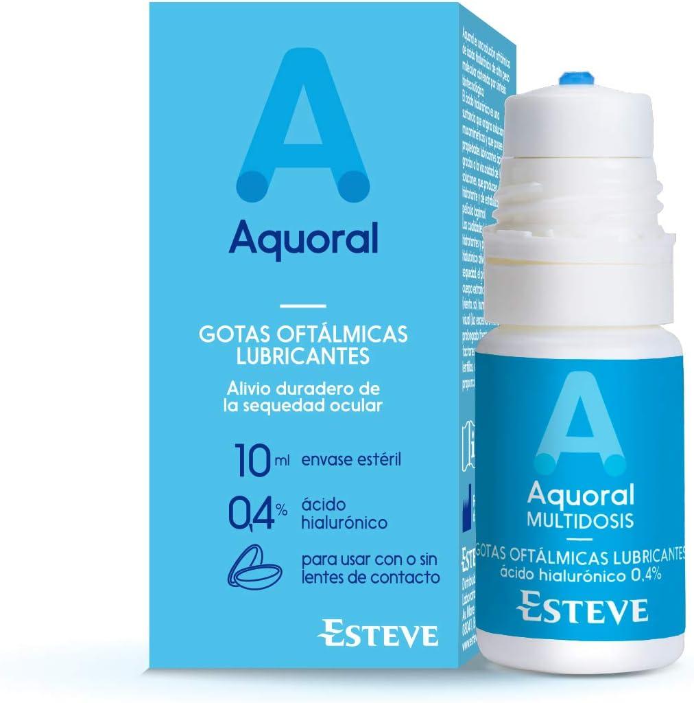 Aquoral Multidosis Gotas Oftalmologicas Lubricantes, 10 ml