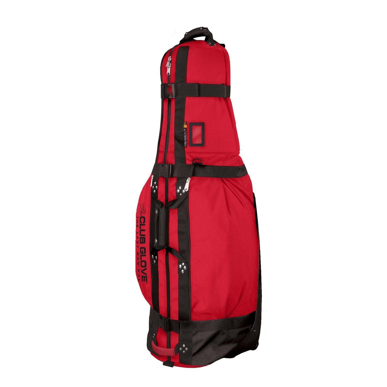 Club Glove The Last Bag XXL Travel Cover (For Staff Bag) Free Stiff Arm : Red