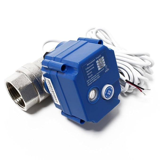Válvula de bola de drenaje con control de mando a distancia para autocaravanas y caravanas: Amazon.es: Bricolaje y herramientas