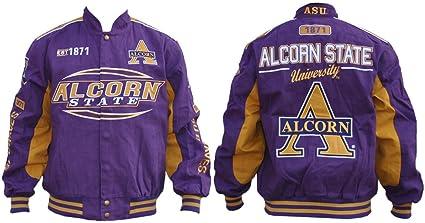 timeless design 7d557 ca58f Amazon.com : Big Boy Gear Alcorn State Braves - Purple ...