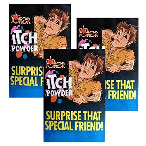Itching Powder Gag-prank 3pk