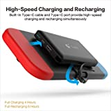 10000mAh Portable Charger Power Bank - Rechargeable Extended Battery Charger Case - Compact Travel Backup Battery Pack for Nintendo Switch by Home Care Wholesale®