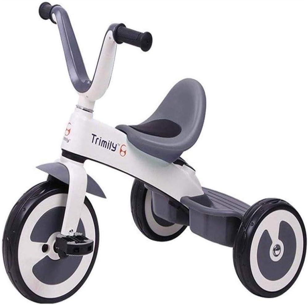 AJH Triciclos para niños Triciclo Cochecito de niño, niños en Bicicleta al Aire Libre del bebé Indoorcycle Triciclo 2 en 1 para niños triciclos 1-3-6 años