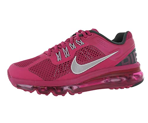 buy popular 4b075 7e8a3 Womens Nike Air Max+ 2013 Running Shoes Sport Fuchsia   Reflective Silver    Anthracite 555363-
