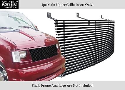 da8e30986f27 Fits 85-94 Chevy Astro Van GMC Safari Van Black Stainless Steel Billet  Grille