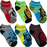 Star Wars6 Pairs of Boys Low Cut No Show Socks By Planet Sox For Kids Toddlers offers