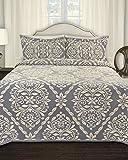 Lamont Home LBBD9440140 Georgio Bedspread, King, Denim