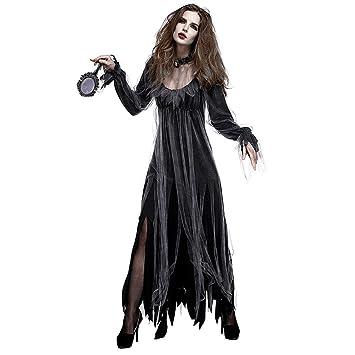 Halloween Kostüm Zombie Kostüm Horror Geist Braut Kostüm Kleid Bar