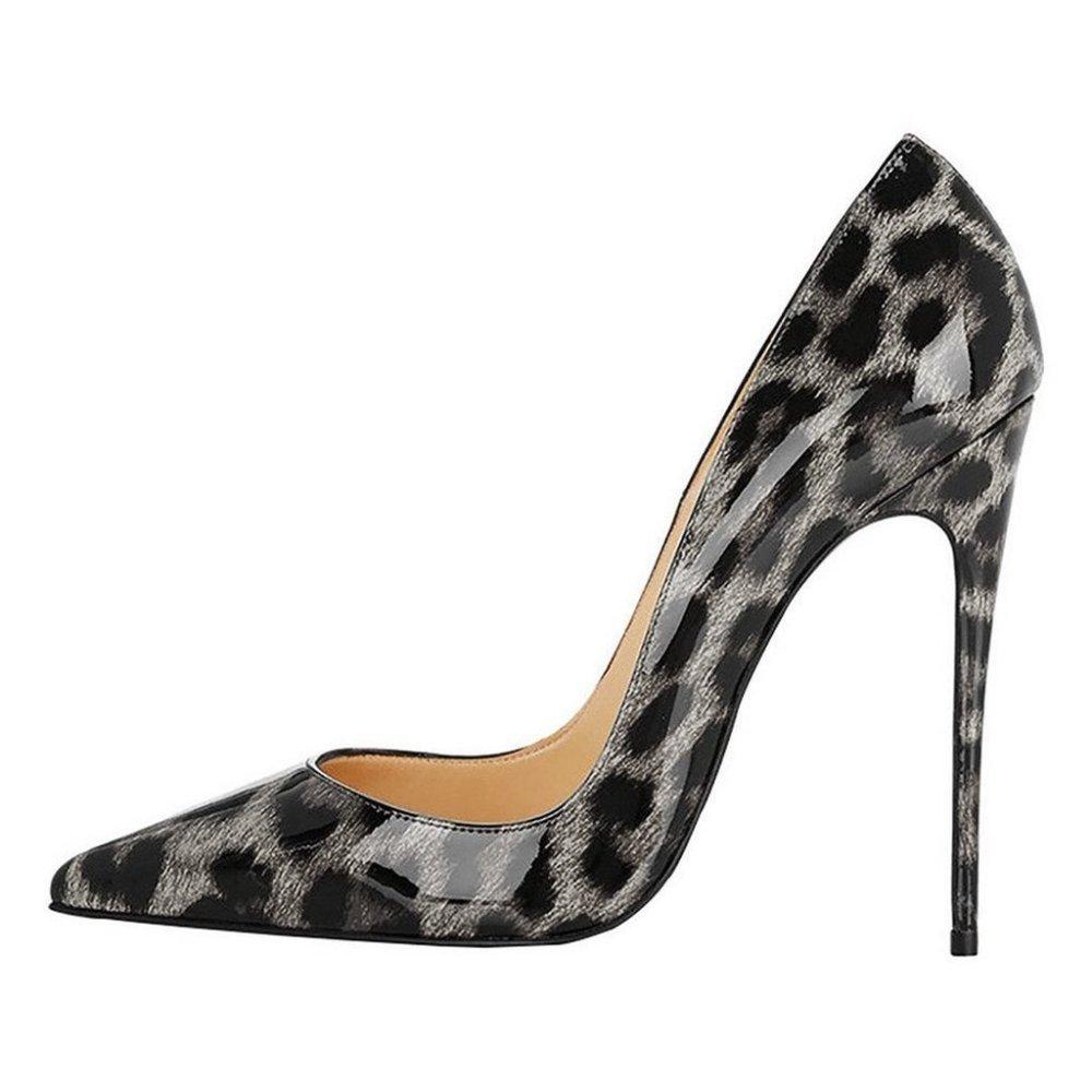 NBWE NBWE NBWE Sexy Frauen Tier Textur High Heels Wies 12 cm Stilettos Nachtclub Schuhe E-12cm ec8f0e