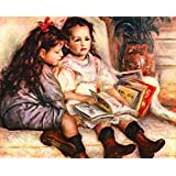 The Museum Outlet - Portrait of Jean and Genevieve Caillebotte - Poster (24 x 18 Inch)