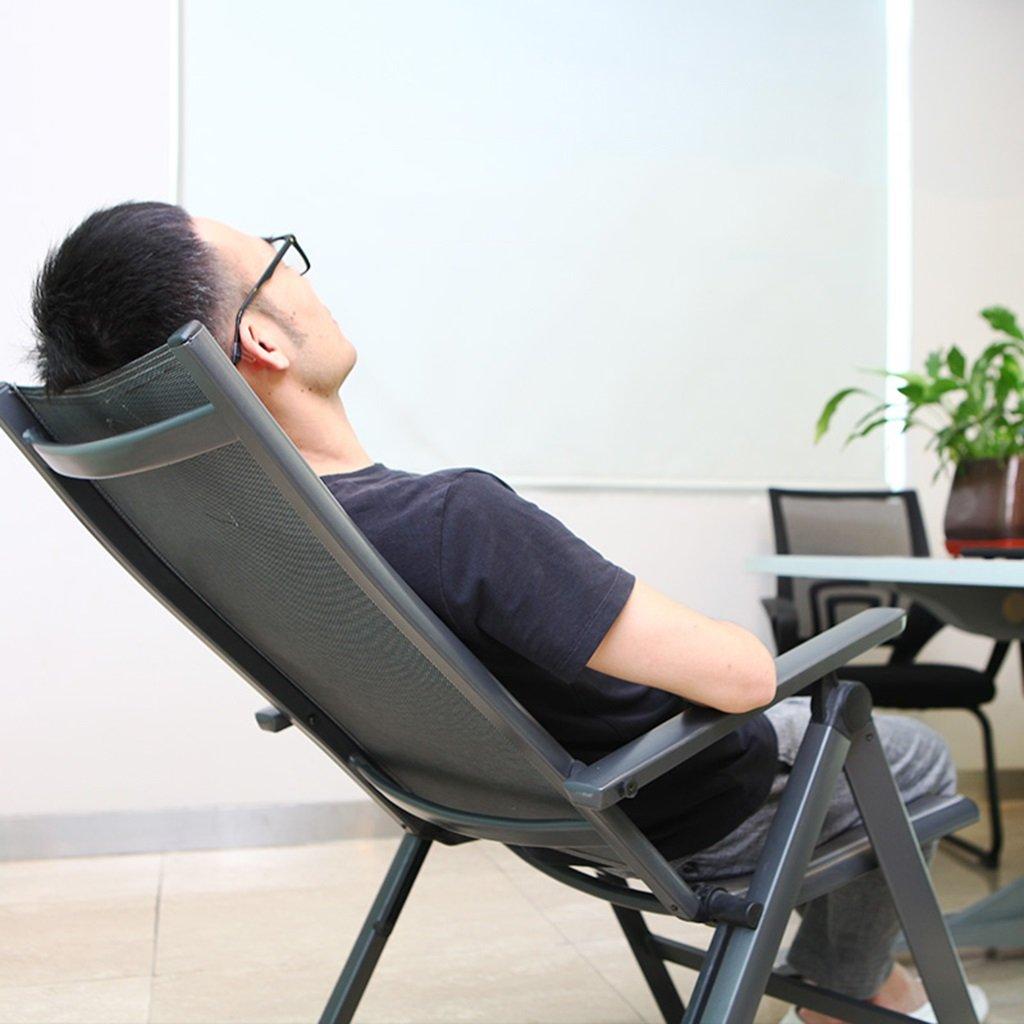 Sillones reclinables Negros Silla Plegable Ajustable ...