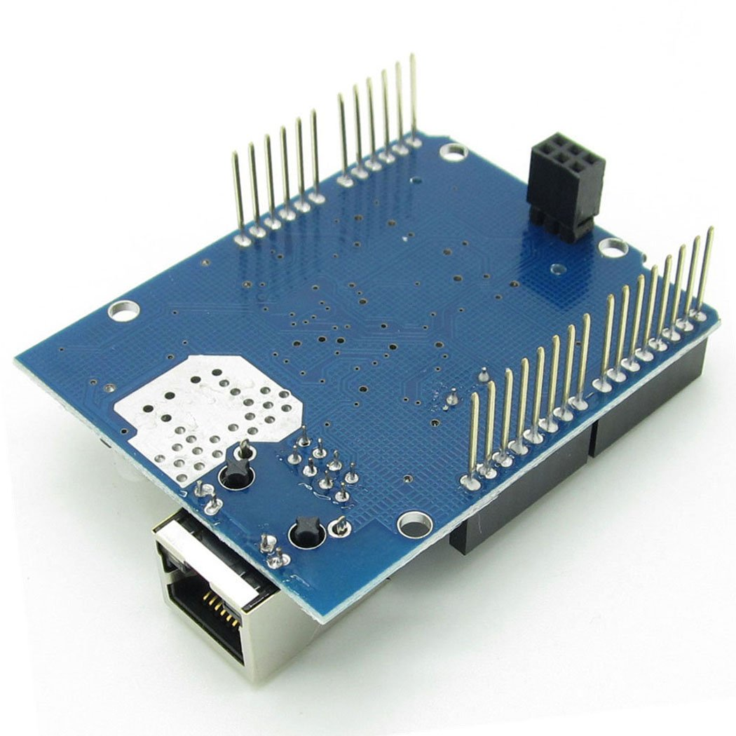 Ethernet W5100 Web Server SD Card Network Shield Expansion Board Module for Arduino by NewZoll (Image #3)