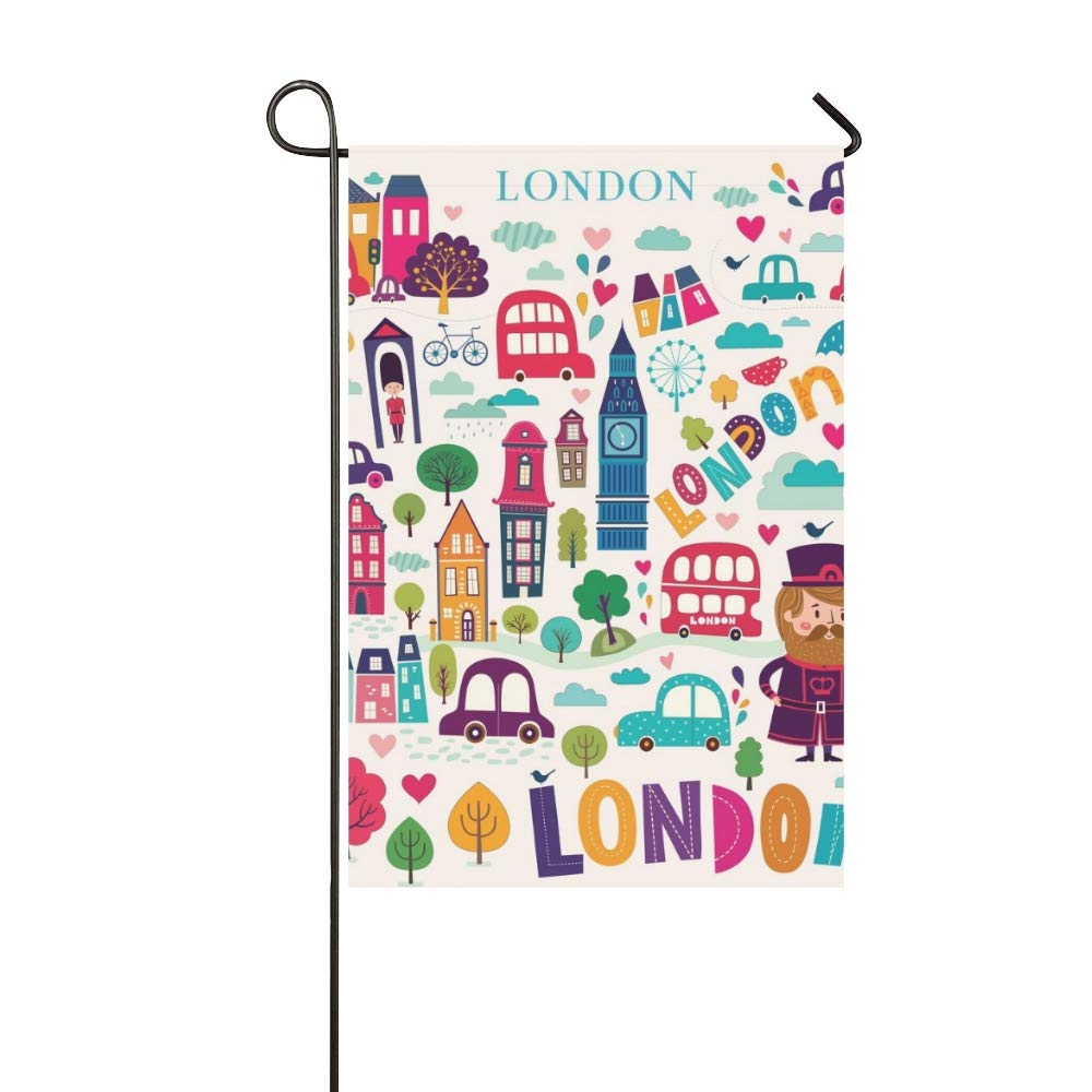 JOCHUAN Decoración del hogar Brillante Estilo Londres Símbolos ...
