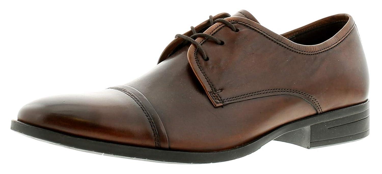 HEAVENLY FEET Schuh Herren Klassischer Schuh FEET Premium Leder Oben Leder Futter und Leder in Socke Schnürdesign Stylisch Laufsohle Perfekt Works Office Abendschuh 6026ce