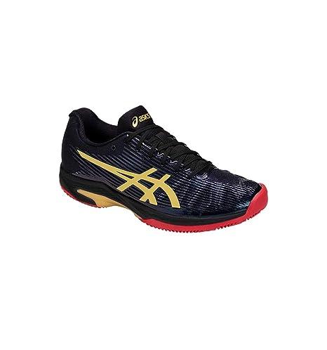 ASICS Men Solution Speed FF L.E. Clay Tennis Shoes Black