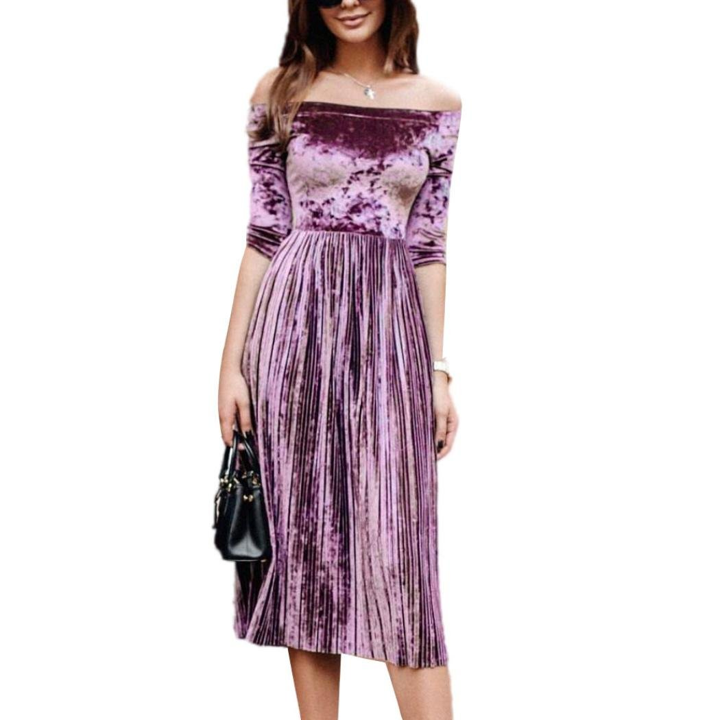 Mujer múltiple para vestido de noche hiroaln Faldas Rodillera largo ...