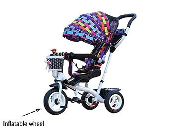 Bicicleta para niños linda y segura de moda niño interior al aire ...