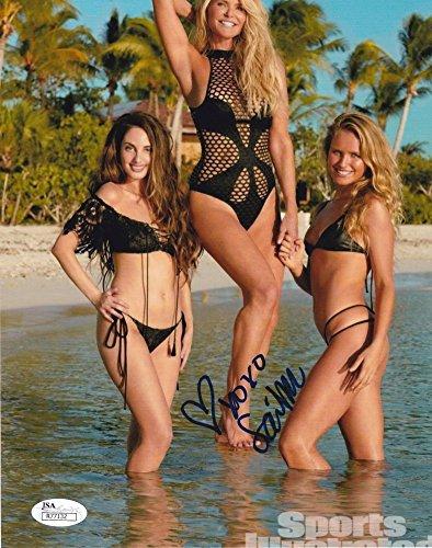 Sailor Brinkley Cook Sports Illustrated Swimsuit Model Signed 8X10 Photograph Jsa 3