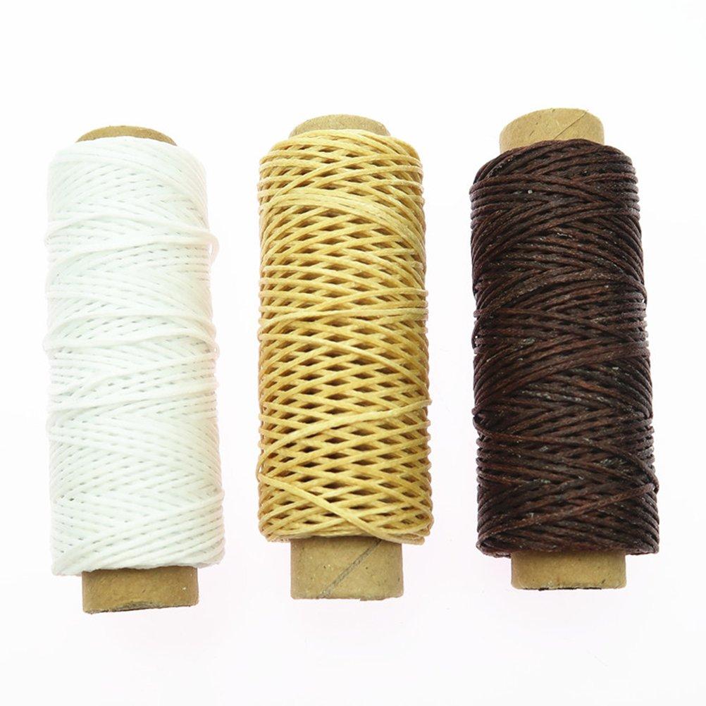 healifty Instrumentos de costura a mano artigianali de piel Set Kit de reparación de piel trabajo manual costura a punto de corte Herramienta de ranura de ...