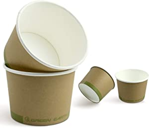 Green Earth, 16 oz. Soup Cups - For Hot and Cold Foods - Kitchen Friendly - Sturdy and Thick (25 Pack)