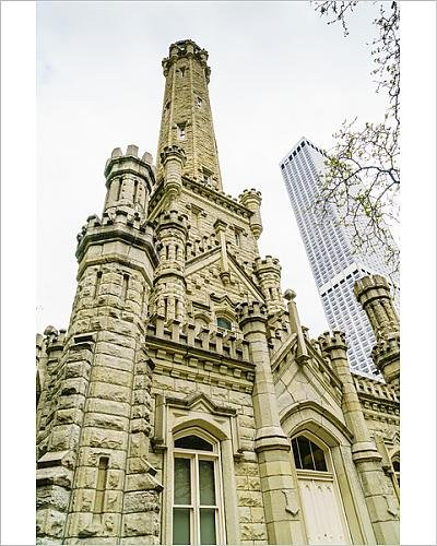 storic Water Tower, North Michigan Avenue, Chicago, Illinois, United (13688839) (Historic Water Tower)