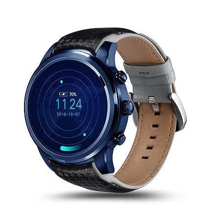 JASZHAO Relojes Smartwatch para Hombres Reloj de Ritmo cardíaco Reloj Inteligente Reloj Android 5.1 2GB +