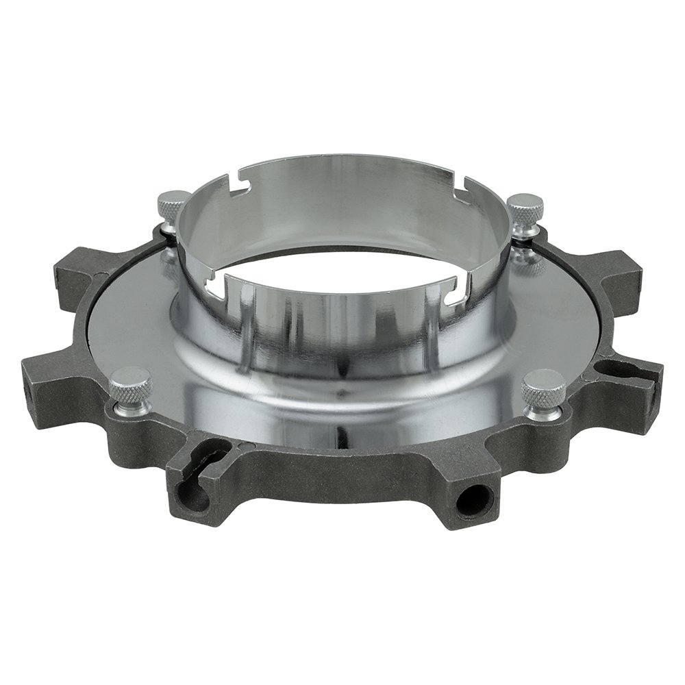 Fotodiox Softbox Speedring (Insert and Base Plate) for Novatron M Series Monolight M150, M300, M500, Bare Tube Head 2107FC Strobe Light