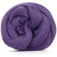 Morado Heather Merino lana/Tops–50gm. Ideal para mojado/de fieltro