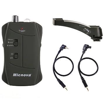 Micnova Lightning/Fuegos artificiales & Sensor de movimiento & Sound/Seguridad/Wildlife disparador